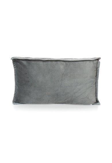 FashionDays.ro: Perna decorativa gri inchis catifelata Elegance Sensei