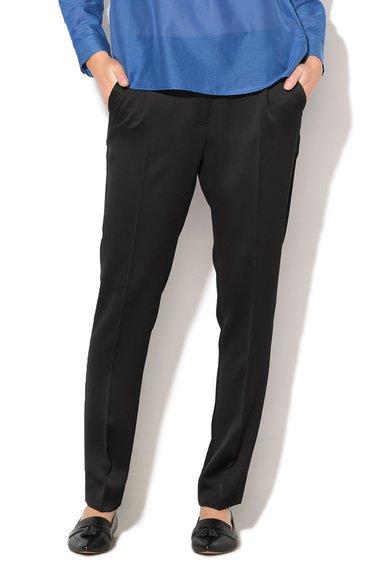 FashionDays.ro: Pantaloni negri conici Agostin Marella