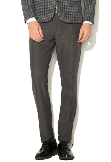 Selected Homme Pantaloni eleganti gri inchis melange One