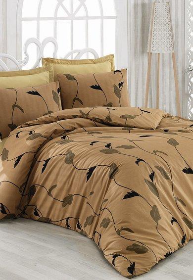 Leunelle Set de pat multicolor cu imprimeu cu frunze