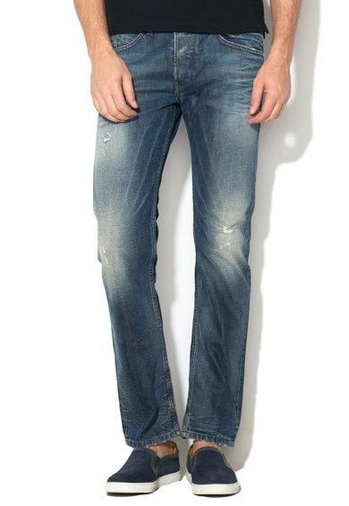 Diesel Jeansi albastru stins slim fit conici Belther