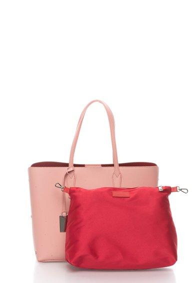 FashionDays.ro: Geanta tote roz de piele Zee Lane
