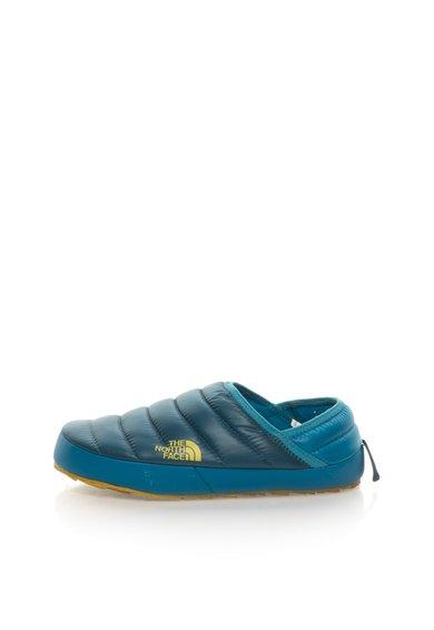 Pantofi slip-on albastru petrol cu vatelina NSE Traction