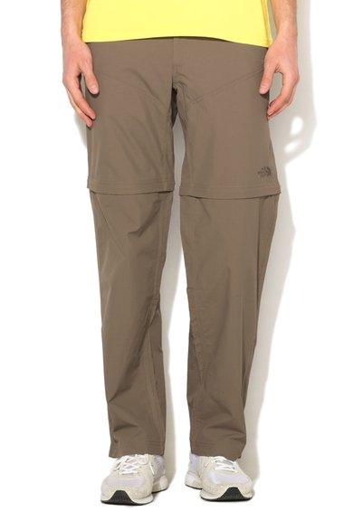 FashionDays.ro: Pantaloni convertibili maro fango Horizon The North Face