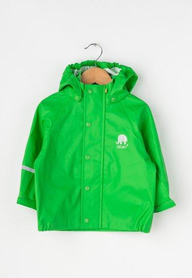 FashionDays.ro: Jacheta verde de ploaie CeLaVi