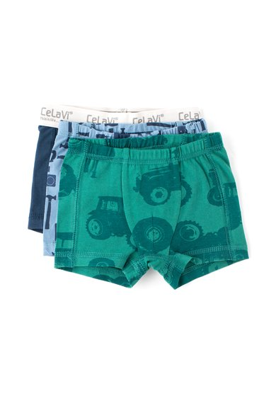 FashionDays.ro: Set multicolor de boxeri – 3 perechi CeLaVi