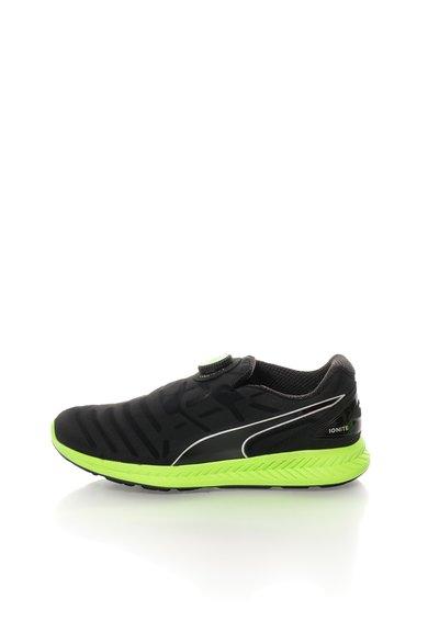FashionDays.ro: Pantofi negri pentru alergare Ignite Disc Puma