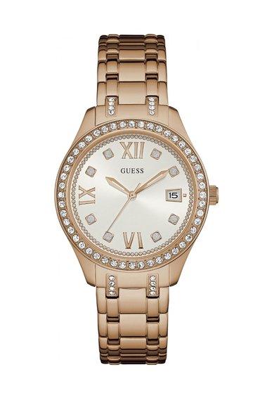 FashionDays.ro: Ceas auriu rose cu cristale Waverly GUESS