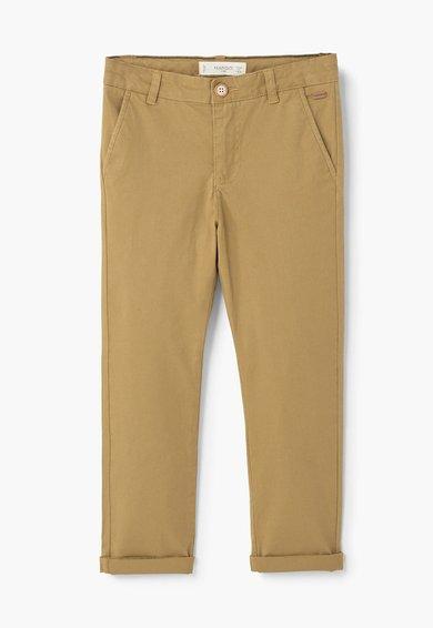 Pantaloni chino maro nisip de la MANGO