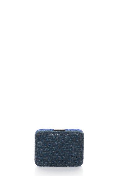 Geanta plic minaudière multicolora cu strasuri de la Liu Jo