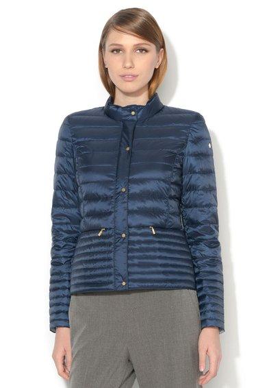 FashionDays.ro: Jacheta usoara bleumarin matlasata ESPRIT