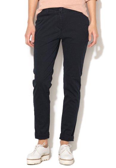 FashionDays.ro: Pantaloni conici bleumarin inchis Meridian Napapijri