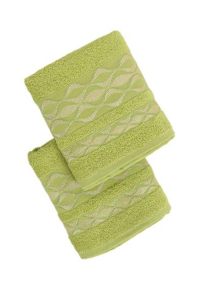 FashionDays.ro: Set de prosoape verde lime brodate Melis – 2 piese Leunelle