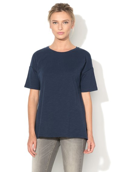 United Colors Of Benetton Tricou bleumarin cu maneci ample Craft