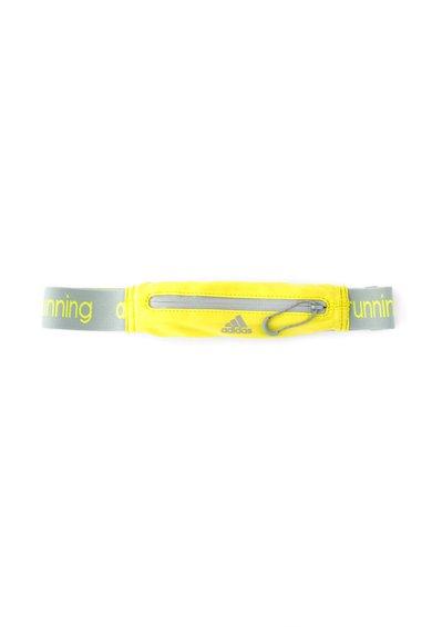 Curea galben neon cu buzunar pentru alergare