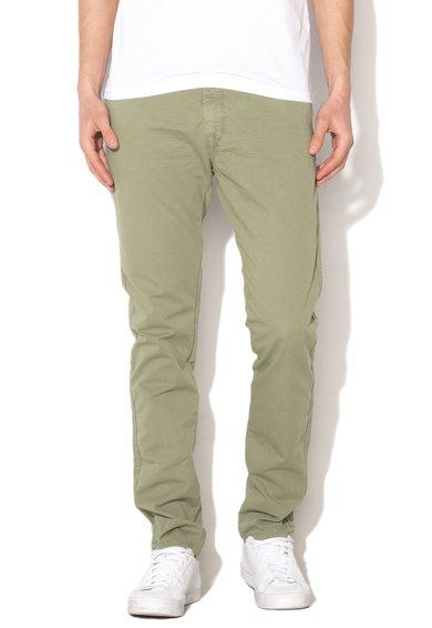 United Colors Of Benetton Pantaloni slim fit verde prafuit