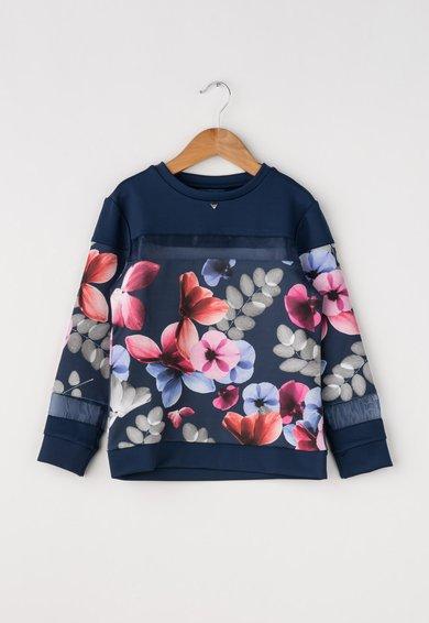 Bluza multicolora cu imprimeu floral de la GUESS JEANS