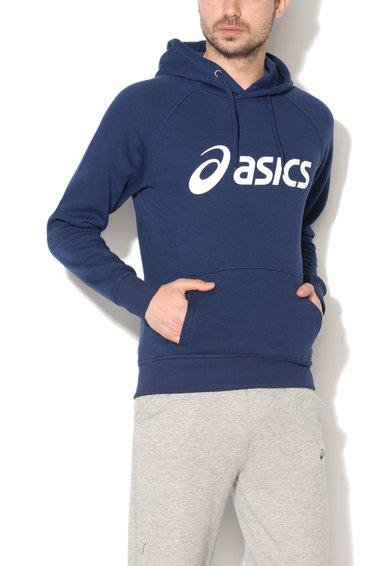 FashionDays.ro: Hanorac bleumarin cu imprimeu logo Asics
