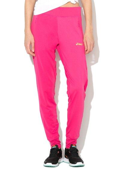Asics Pantaloni sport fucsia pentru antrenament