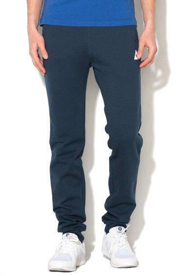 Le Coq Sportif Pantaloni sport slim fit bleumarin