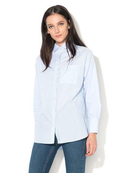 New Look Camasa bleu cu alb in dungi Mix