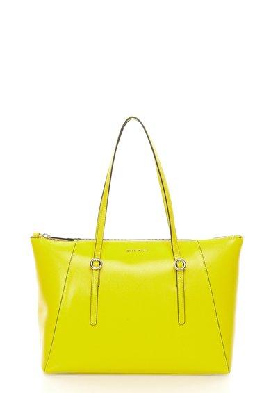 FashionDays.ro: Geanta verde chartreuse de piele saffiano COCCINELLE