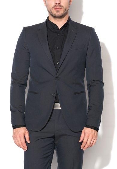 FashionDays.ro: Sacou bleumarin slim fit cu 2 nasturi United Colors Of Benetton