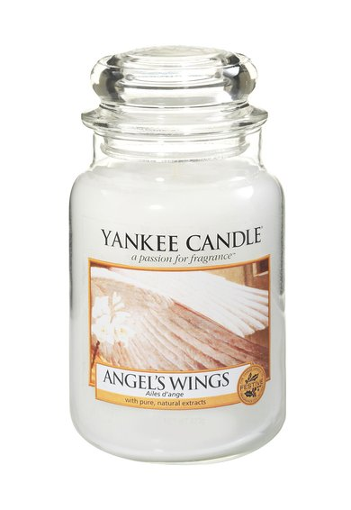 Yankee Candle Lumanare parfumata mare in borcan Angel Wings