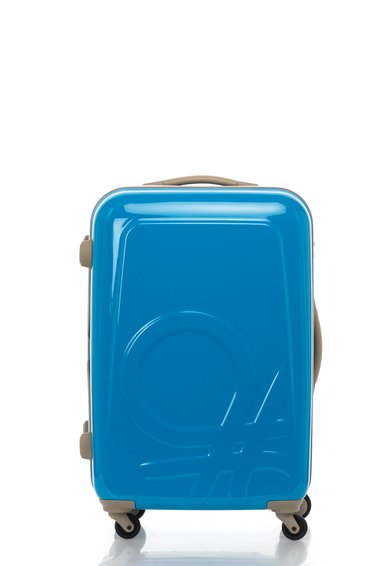 FashionDays.ro: Geanta de voiaj rigida albastru electric United Colors Of Benetton