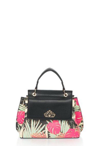 FashionDays.ro: Geanta multicolora cu palmieri Carole Fornarina