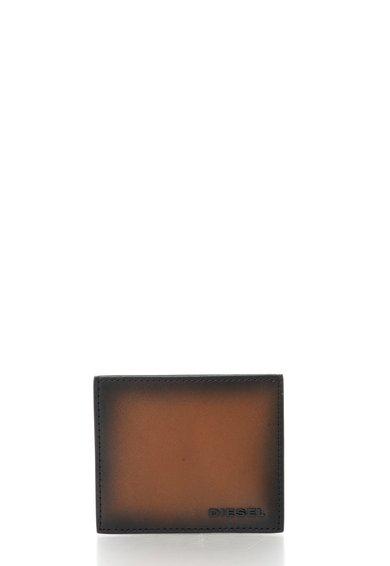 FashionDays.ro: Portcart negru cu maro de piele Johnas Diesel