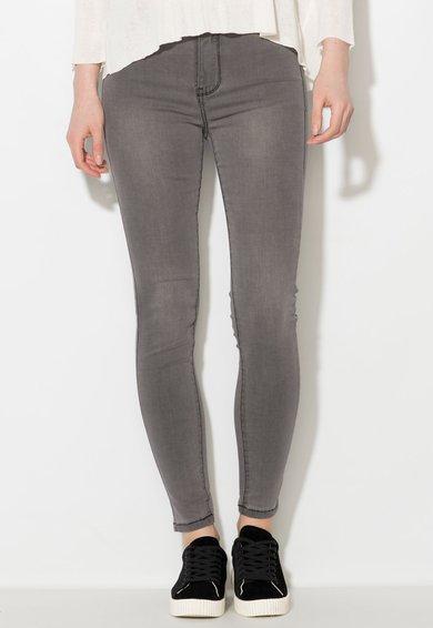 Zee Lane Denim Jeansi skinny elastici gri