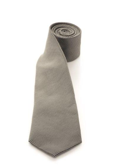FashionDays.ro: Cravata gri inchis cu argintiu de matase cu model discret Vincenzo Boretti