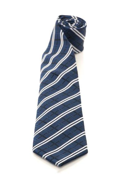 FashionDays.ro: Cravata albastru inchis de matase in carouri Vincenzo Boretti