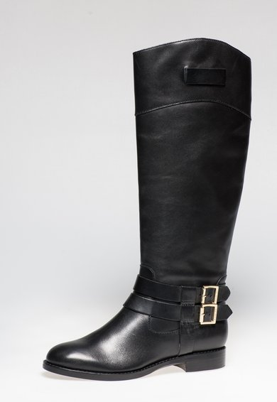 FashionDays.ro: Cizme negre inalte din piele Grayson Rachel Zoe